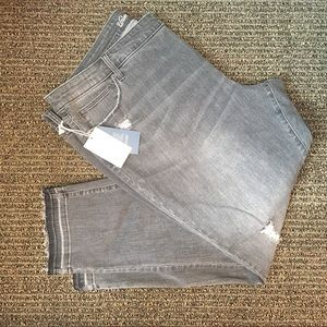Universal Thread Plus Size Gray Skinny Jeans 24 R